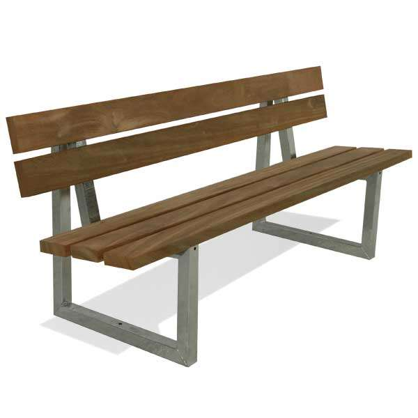 Street Furniture | Seating and Benches | FalcoSway Double-Slatted Seat | image #1 |