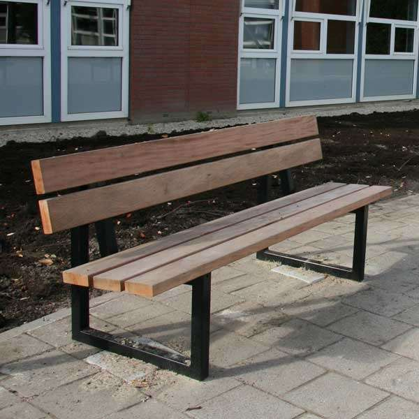Street Furniture | Seating and Benches | FalcoSway Double-Slatted Seat | image #2 |