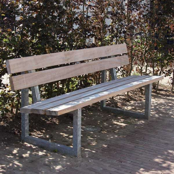 Street Furniture | Seating and Benches | FalcoSway Double-Slatted Seat | image #3 |