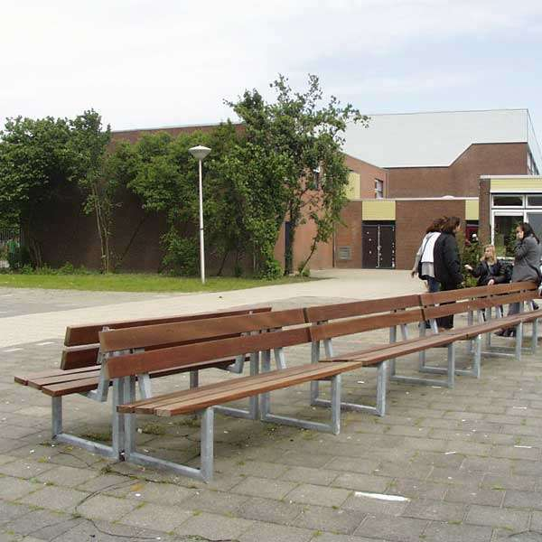 Street Furniture | Seating and Benches | FalcoSway Double-Slatted Seat | image #4 |