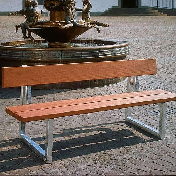Street Furniture | Seating and Benches | FalcoSway Double-Slatted Seat | image #6 |
