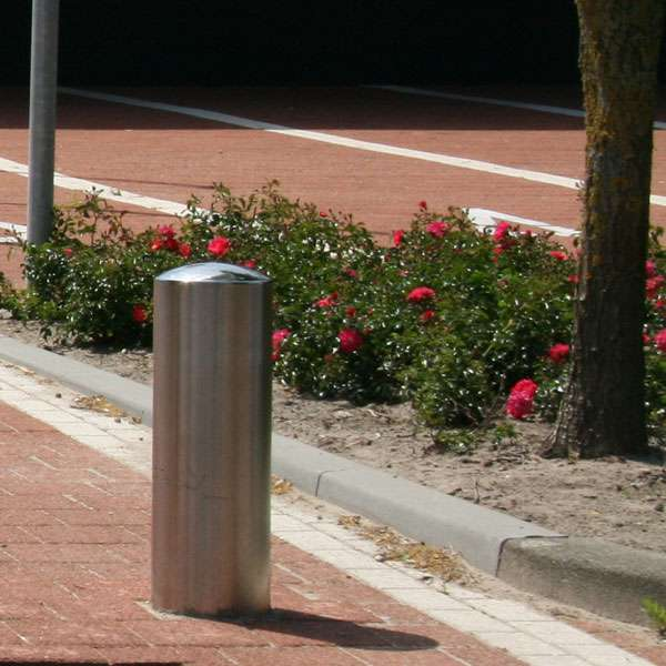 Street Furniture | Bollards and Traffic Guides | RVS Stainless-Steel Bollard | image #2 |