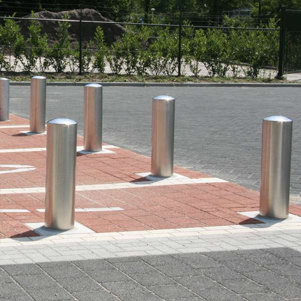 Street Furniture | Bollards and Traffic Guides | RVS Stainless-Steel Bollard | image #4 |