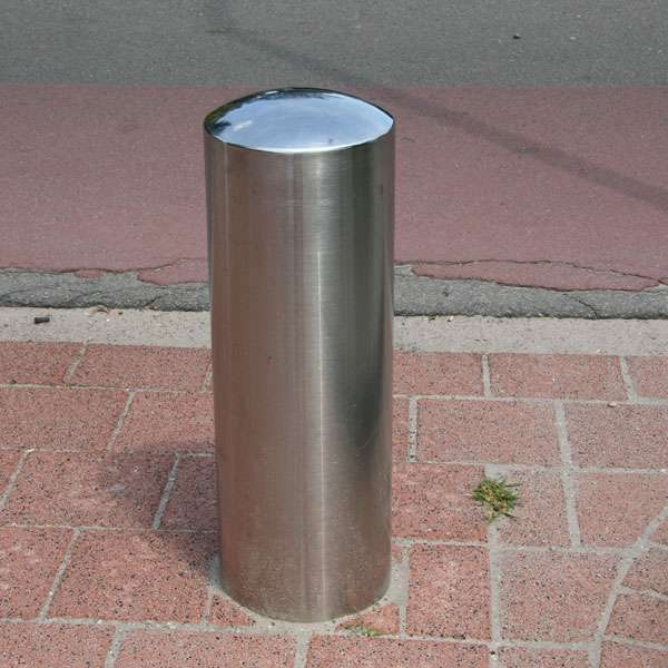 Street Furniture | Bollards and Traffic Guides | RVS Stainless-Steel Bollard | image #5 |