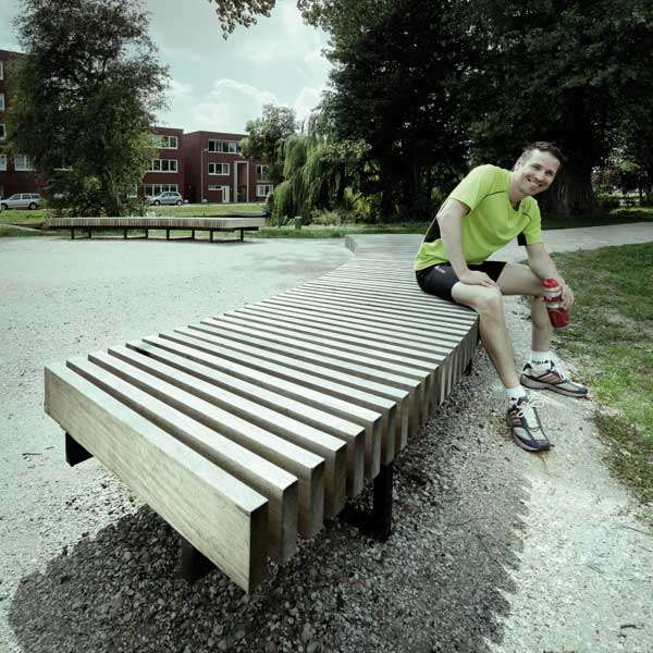 Street Furniture | Seating and Benches | FalcoMetro Bench | image #6 |
