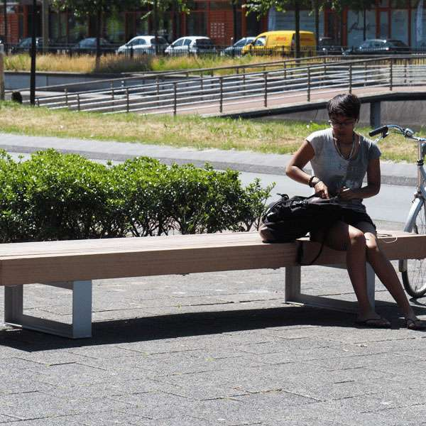 Street Furniture | Seating and Benches | FalcoMetro Bench | image #9 |