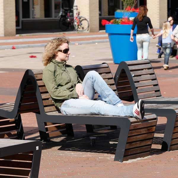 Street Furniture | Seating and Benches | FalcoLinea Sofa | image #2 |