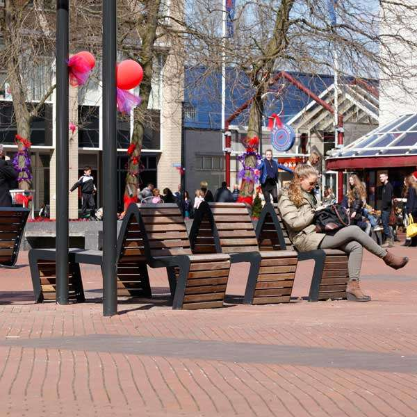 Street Furniture | Seating and Benches | FalcoLinea Sofa | image #3 |