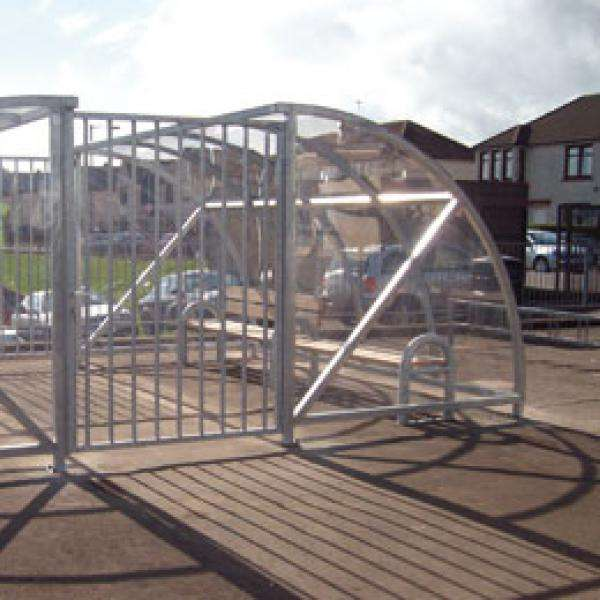 Shelters, Canopies, Walkways and Bin Stores | Smoking Shelters | FalcoQuarter Smoking Shelter | image #3 |
