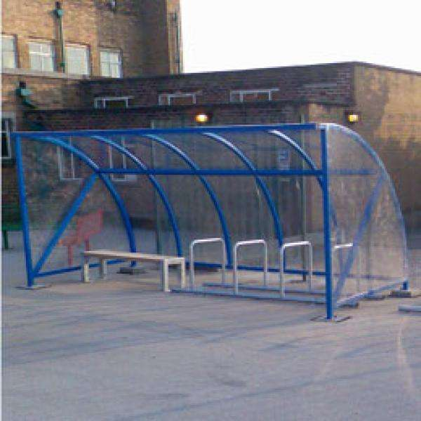 Shelters, Canopies, Walkways and Bin Stores | Smoking Shelters | FalcoQuarter Smoking Shelter | image #4 |