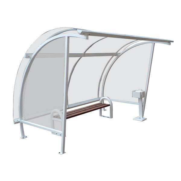 Shelters, Canopies, Walkways and Bin Stores | Waiting Shelters | FalcoLite Waiting Shelter | image #1 |