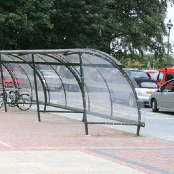 Shelters, Canopies, Walkways and Bin Stores | Waiting Shelters | FalcoLite Waiting Shelter | image #3 |