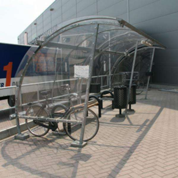 Shelters, Canopies, Walkways and Bin Stores | Waiting Shelters | FalcoLite Waiting Shelter | image #4 |