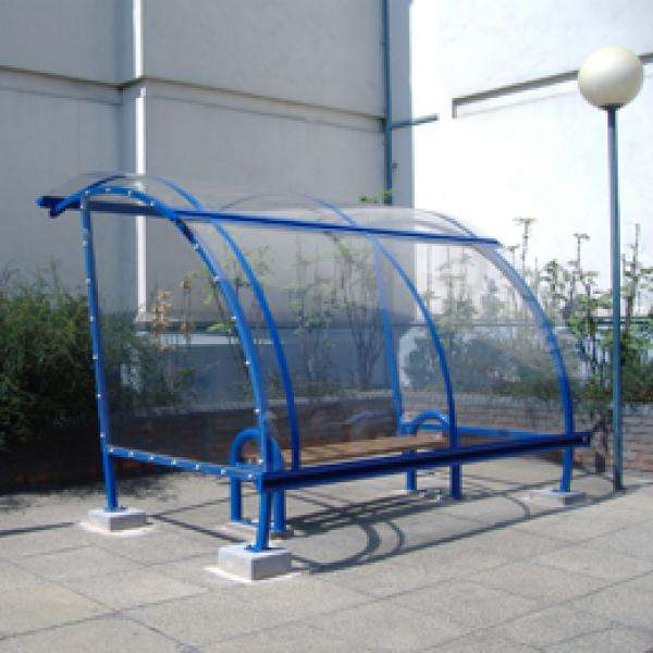 Shelters, Canopies, Walkways and Bin Stores | Waiting Shelters | FalcoLite Waiting Shelter | image #5 |