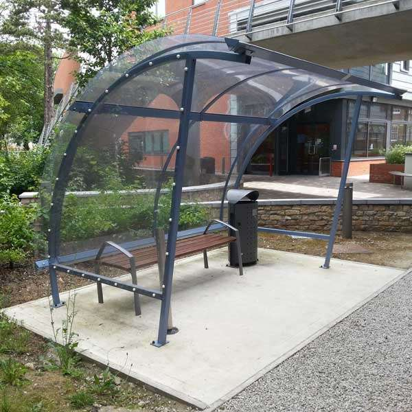 Shelters, Canopies, Walkways and Bin Stores | Waiting Shelters | FalcoLite Waiting Shelter | image #6 |
