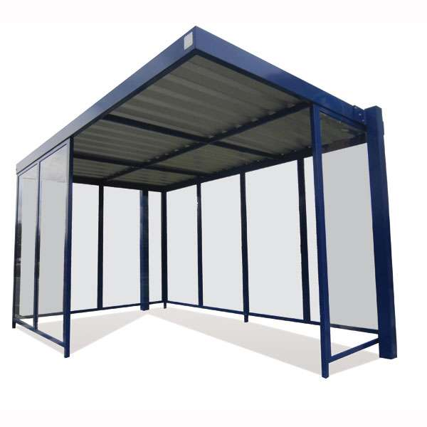 Shelters, Canopies, Walkways and Bin Stores | Waiting Shelters | FalcoSpan Waiting Shelter | image #1 |