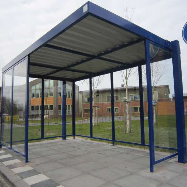 Shelters, Canopies, Walkways and Bin Stores | Waiting Shelters | FalcoSpan Waiting Shelter | image #2 |