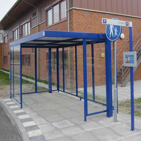 Shelters, Canopies, Walkways and Bin Stores | Waiting Shelters | FalcoSpan Waiting Shelter | image #3 |