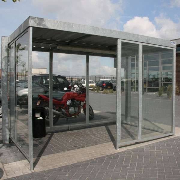 Shelters, Canopies, Walkways and Bin Stores | Waiting Shelters | FalcoSpan Waiting Shelter | image #4 |
