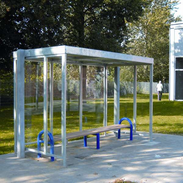 Shelters, Canopies, Walkways and Bin Stores | Waiting Shelters | FalcoSpan Waiting Shelter | image #5 |