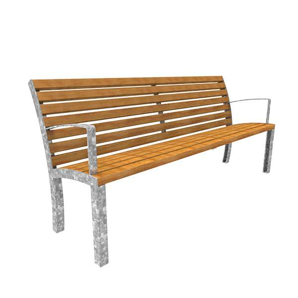 Street Furniture | Seating and Benches | FalcoStretto Seat | image #9 |