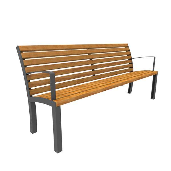 Street Furniture | Seating and Benches | FalcoStretto Seat | image #10 |