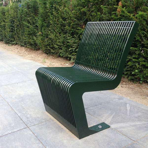 Street Furniture | Chairs and Stools | FalcoLinea Steel Chair | image #3 |