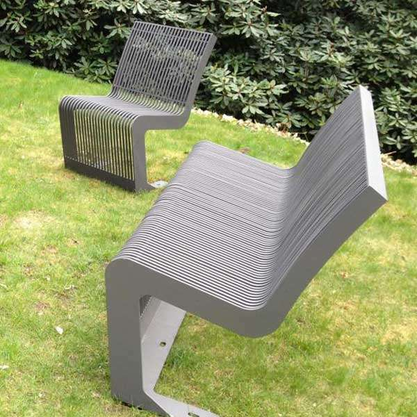 Street Furniture | Chairs and Stools | FalcoLinea Steel Chair | image #4 |