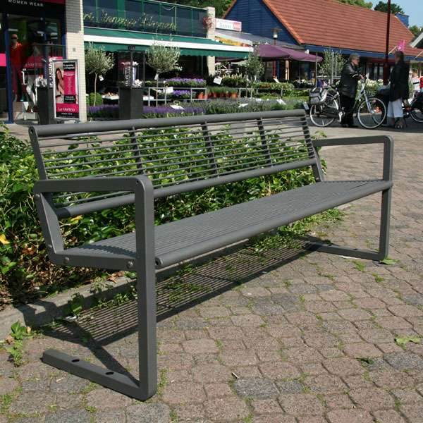 Street Furniture | Seating and Benches | FalcoNine Seat (Steel) | image #2 |