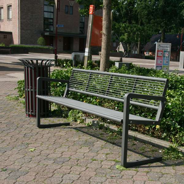 Street Furniture | Seating and Benches | FalcoNine Seat (Steel) | image #3 |