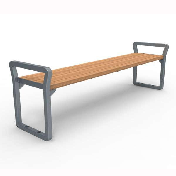Street Furniture | Seating and Benches | FalcoNine Bench (hardwood) | image #1 |
