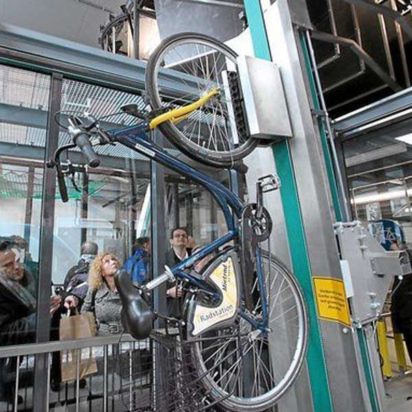 Cycle Parking | Cycle Racks | VeloMinck® Automated Cycle Parking System | image #4 |