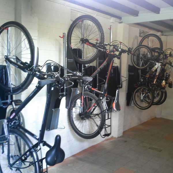 Cycle Parking | Compact Cycle Parking | VelowUp® 3.0 Vertical Cycle Stand | image #2 |