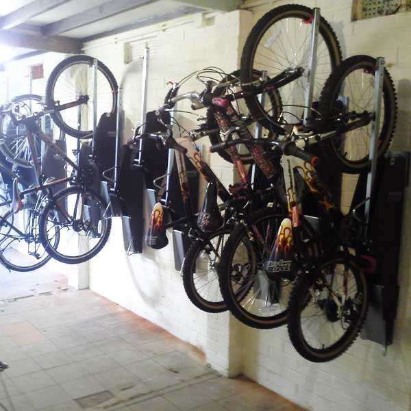 Cycle Parking | Compact Cycle Parking | VelowUp® 3.0 Vertical Cycle Stand | image #3 |
