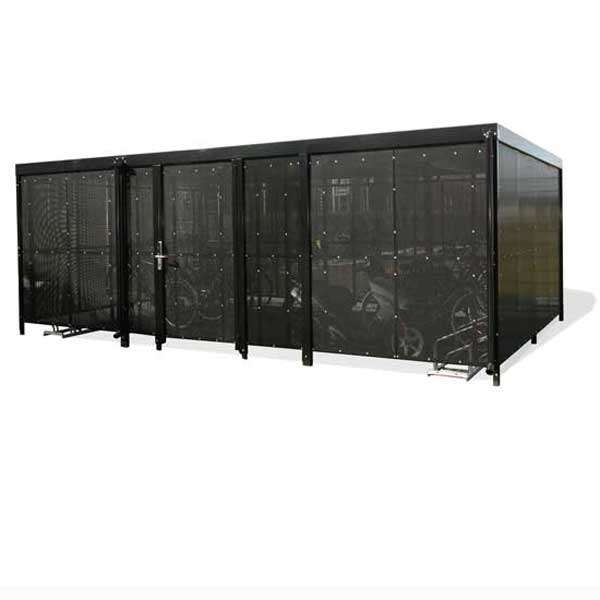 Shelters, Canopies, Walkways and Bin Stores | Bin Stores | FalcoLok-600 Bin Store | image #1 |