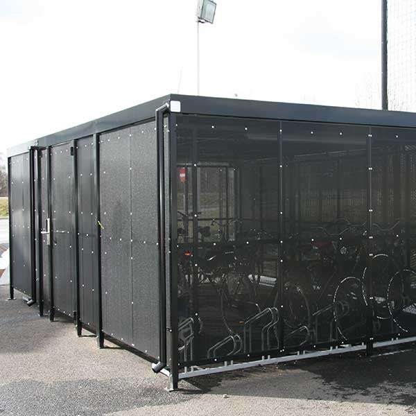 Shelters, Canopies, Walkways and Bin Stores | Bin Stores | FalcoLok-600 Bin Store | image #3 |