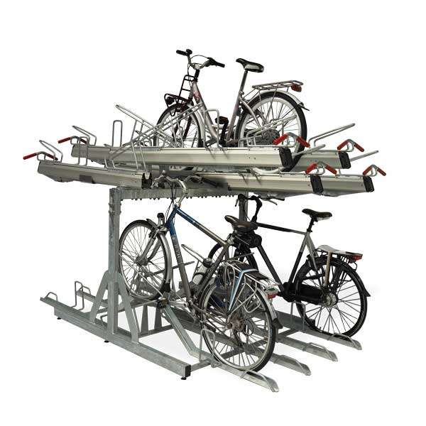 Cycle Parking | Compact Cycle Parking | FalcoLevel-Premium+ Two-Tier Cycle Parking | image #1 |