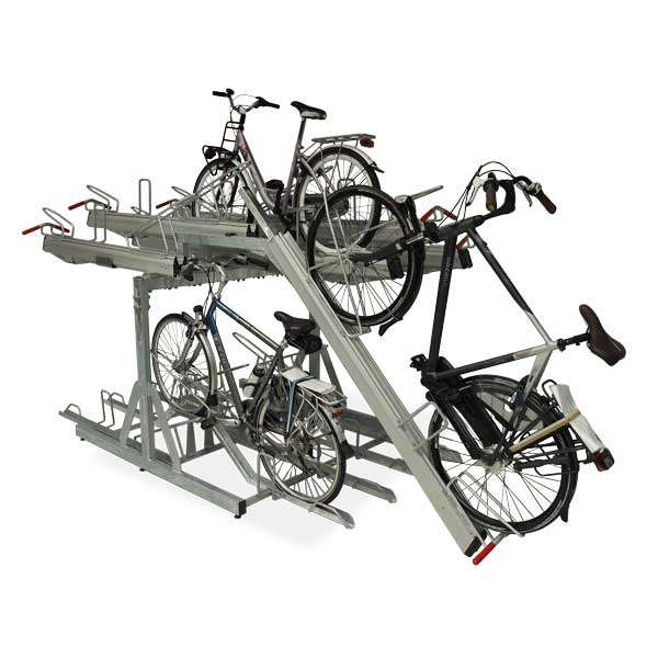 Cycle Parking | Compact Cycle Parking | FalcoLevel-Premium+ Two-Tier Cycle Parking | image #2 |