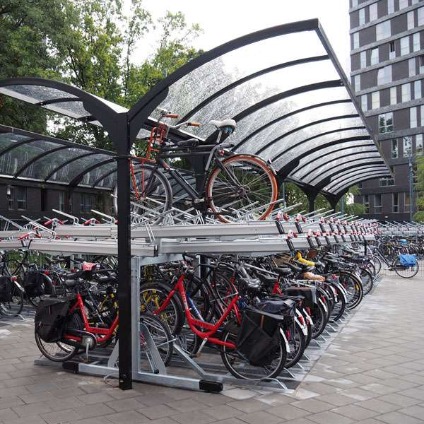 Cycle Parking | Compact Cycle Parking | FalcoLevel-Premium+ Two-Tier Cycle Parking | image #5 |