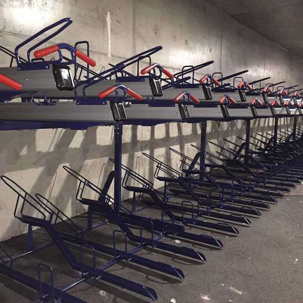 Cycle Parking | Compact Cycle Parking | FalcoLevel-Premium+ Two-Tier Cycle Parking | image #6 |