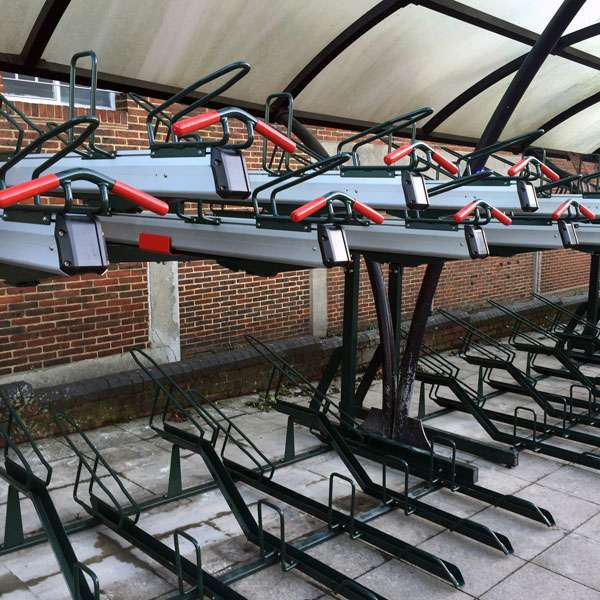 Cycle Parking | Compact Cycle Parking | FalcoLevel-Premium+ Two-Tier Cycle Parking | image #7 |