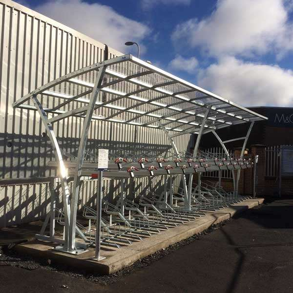 Cycle Parking | Compact Cycle Parking | FalcoLevel-Premium+ Two-Tier Cycle Parking | image #8 |