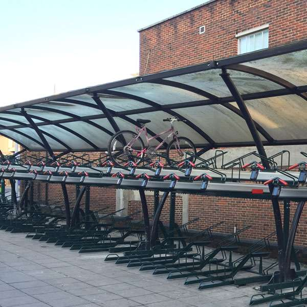 Cycle Parking | Compact Cycle Parking | FalcoLevel-Premium+ Two-Tier Cycle Parking | image #9 |