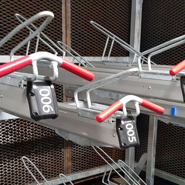 Cycle Parking | Compact Cycle Parking | FalcoLevel-Premium+ Two-Tier Cycle Parking | image #12 |
