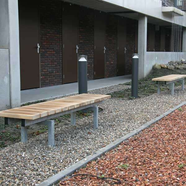 Street Furniture | Seating and Benches | FalcoSinus Bench | image #4 |