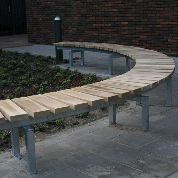 Street Furniture | Seating and Benches | FalcoSinus Bench | image #5 |
