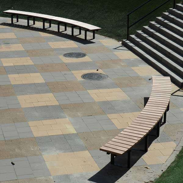 Street Furniture | Seating and Benches | FalcoSinus Bench | image #6 |