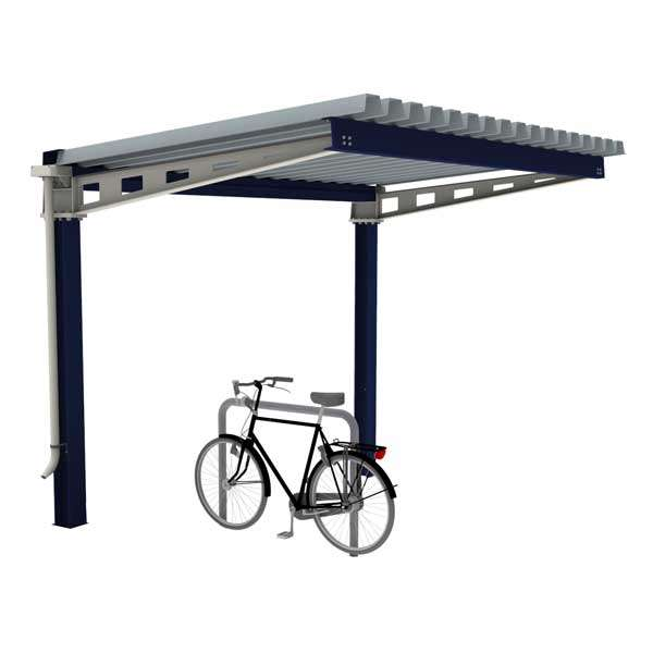 Shelters, Canopies, Walkways and Bin Stores | Cycle Shelters | FalcoHoth Cycle Canopy | image #1 |