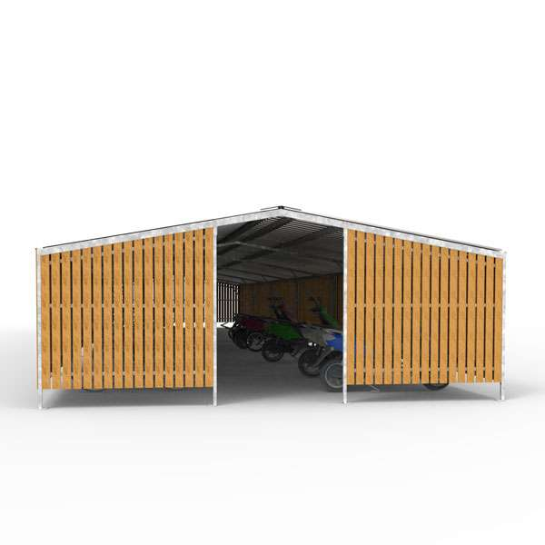 Shelters, Canopies, Walkways and Bin Stores | Cycle Shelters | FalcoTel-C Cycle Compound | image #1 |