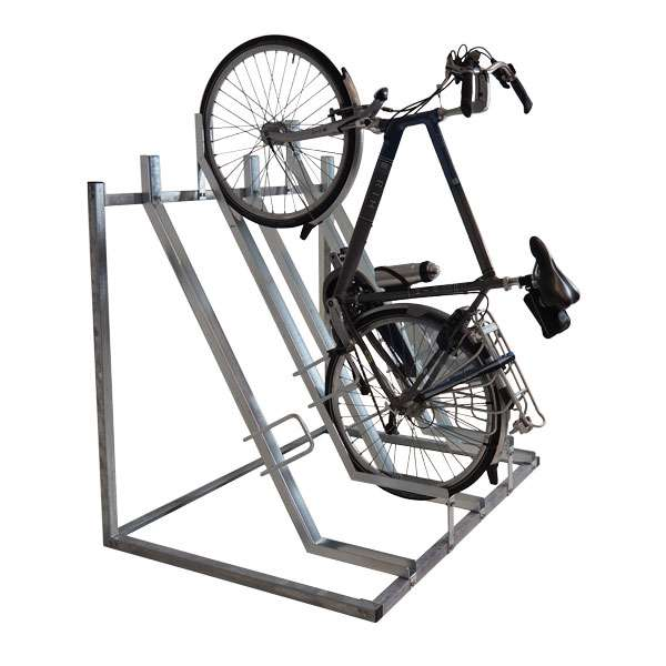 Cycle Parking | Compact Cycle Parking | FalcoVert-Pro Semi Vertical Cycle Rack | image #1 |